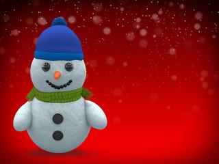 3D - Snowman - Shot 7