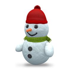 3D - Snowman - Shot 8