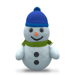 3D - Snowman - Shot 9