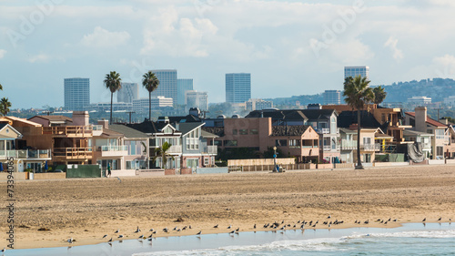 Fotobehang Los Angeles Newport Beach California 3