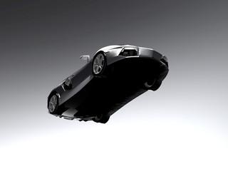 A CG render of a generic luxury sports car