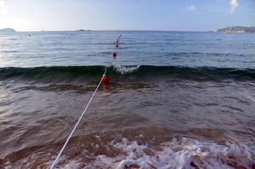 Surf on Hainan Island