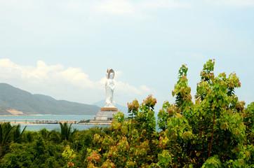 Guanyin statue, Hainan province, China, may 2011