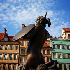 Warsaw old town siren