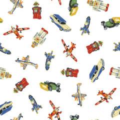 玩具のパターン