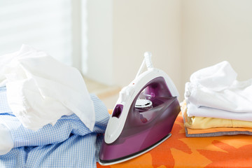 Ironing time at home
