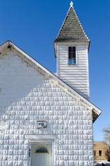 Church roof building, colorado