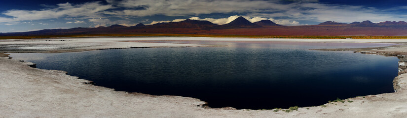 salt lake in Atacama