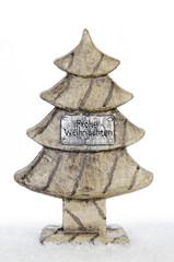 holzweihnachtsbaum zur dekoration