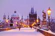 Charles bridge, Old Town bridge tower, Prague (UNESCO), Czech r - 73400658