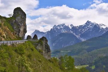 Swiss Alps-rocks by Ardez