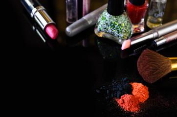 cosmetics close up