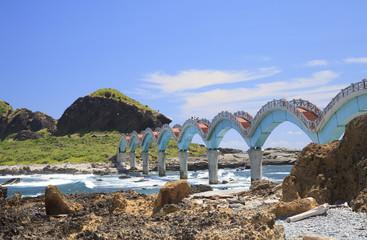 the bridge of coast