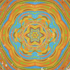 Colorful retro ornament. Illustration 10 version