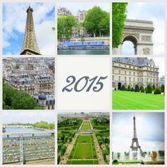 2015,monuments parisien,composition