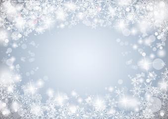 Snowflake Winter Background
