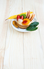 Assorted fruit cake