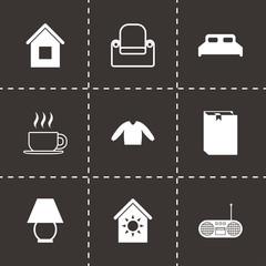Vector homey icon set