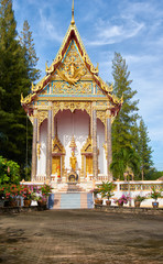 Wat Sri Sunthon temple on Phuket