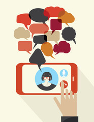 Cellphone communications