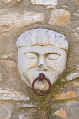 Old horse ring. Guardia Perticara. Basilicata. Italy.