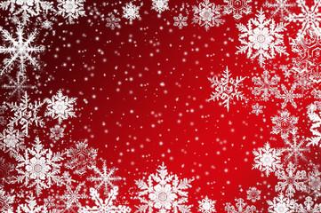 Eiskristalle zu Weihnachten