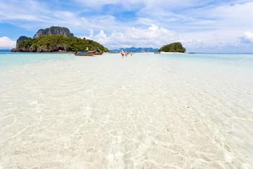 lagon de rêve de Tup Island, Thaïlande
