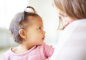Curious infant