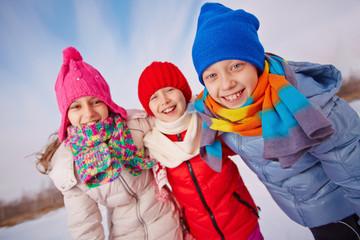 Cheerful kids