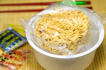 chinesische Instant Nudelsuppe