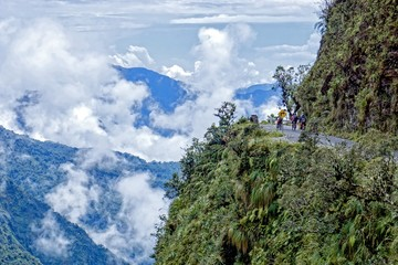 Road of death Bolivia