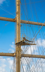 Crows Nest on Clipper Mast