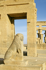 Ancient Temple in Philae, Egypt, UNESCO World Heritage Site