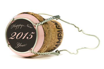 Champagnerkorken Rose´ - Happy New Year 2015