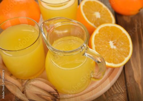canvas print picture Fresh orange juice