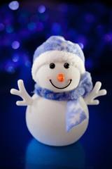 Cute snowman .Christmas toy.Christmas card.
