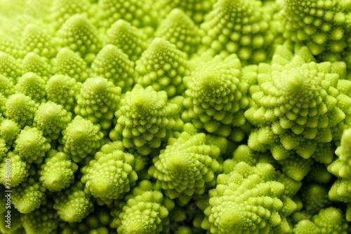 Fotobehang Textures Romanesco broccoli
