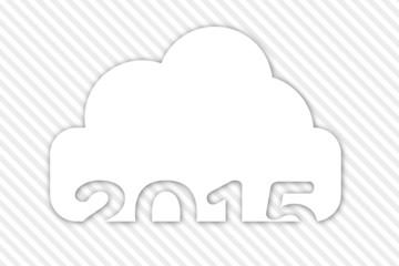 Anno nuovo 2015 cloud