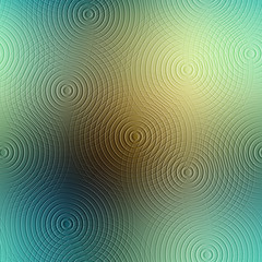 Circles pattern with imitation of relief.