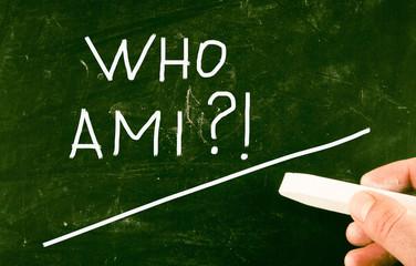 who am i concept