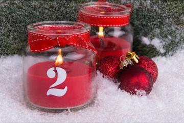 zweiter advent im schnee