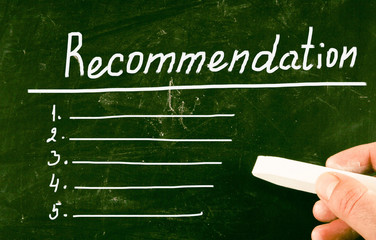 recommendation concept
