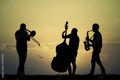 Leinwanddruck Bild symphony Orchestra