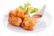 canvas print picture - fried shrimp