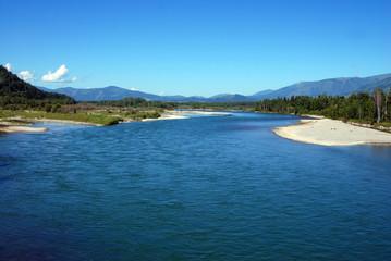 The Katun River. View 3