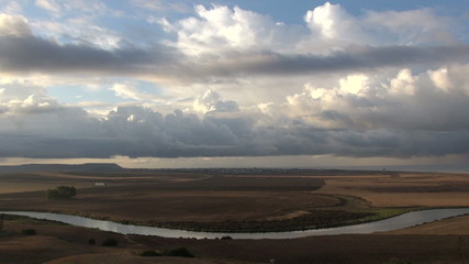 Andalusian country time lapse