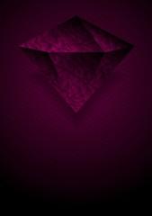 Tech purple background with brilliant