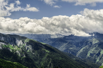 Pyrenees mountains