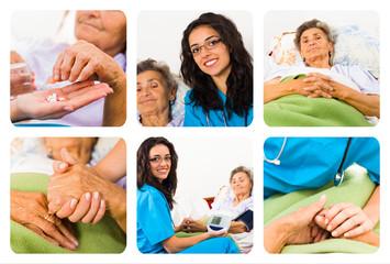 Homcare for elderly woman