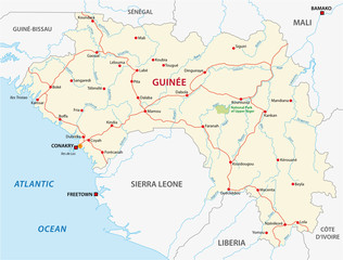 guinea road map